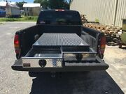 Bb65lp 2 Drawer Truck Bed Tool Box By Hmf 65 Long X 48 Wide X 7 1/2 Tall