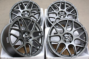 """18"""" Alloy Wheels Cruize Cr1 Gm Fit For Saab 9-3 9-5 93 95 9-3x 900"""