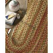 Capel Rugs Manchester Wool Country Casual Braided Area Rug Evergreen 200