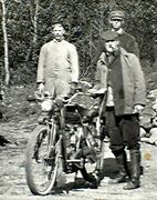 Old Photo Motorcycles At Jacobs Ladder Early Endurance Run To East Lee