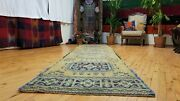 Bohemian Vintage 1950-1960and039s Oushak Runner 2and03910andtimes12and0392