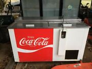 Large Coco Cola Commercial Cooler/ Freezer Working Condition Used