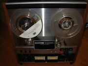 Teac A-4300sx Reel To Reel Stereo Tape Deck Auto Reverse Manual And Original Box