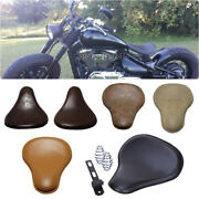 6 Color Motorcycle Solo Driver Seats Synthetic Leather For Suzuki Boober Chopper