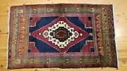 Antique 1900-1930and039s Rare Turkish Tribal Rug 4and0392 Andtimes 7andrsquo