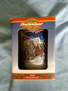 1999 Budweiser Beer Stein In Box 20th Anniv A Century Of Tradition