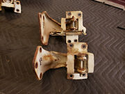 Right Door Hinges 1968 Buick Chevrolet Oldsmobile Pontiac Caddy Upper And Lower