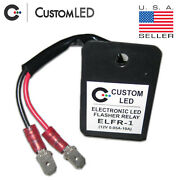 Yamaha V Star Stryker Led Flasher Relay - Fast Blinker Fix - Plug-and-play