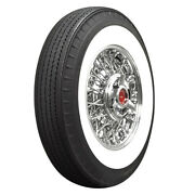 American Classic Whitewall Radial Bias Look 710r15 95s 2-3/4 Ww Qty Of 4