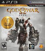 God Of War Saga Collection [playstation 3 Ps3 - Gow 1 2 3] Brand New