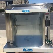 Giles Rt-5 Electric Rotisserie Oven - Commercial Hot Case Bbq Chicken And Ribs