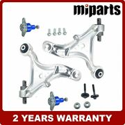 New Front L R Lower Control Arm Ball Joint Kit 4pcs Fit For Volvo S60 V70