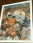 Back 2 Back And Then Some -autographed University Of Tennessee Football Print 1/98