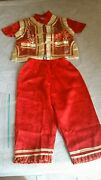Kid Boy Chinese New Year Asian Traditional Costume Outfits Short Sleeve