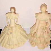 Gifina Dolls Handmade Vintage Dominican Collectible Faceless Antique Set Of 2