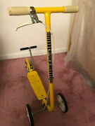 Honda Kick N Go Kids Scooter - Vintage 1970and039s Yellow