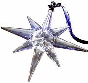 1995 Christmas Star / Snowflake - Mint, Ornament Only