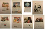 Vtg 1930-1980s Airline Advertising Ads Twa American Delta United Etc. You Choose