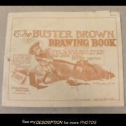 Scarce 1903 Advertising Buster Brown Drawing Book R F Outcault Black Americana