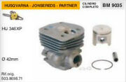 503.8698.71 Cylinder And Piston Chainsaw Husqvarna Apps Hu 346 Xp Ø 1 21/32in