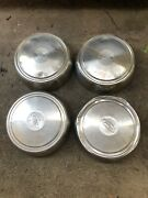 1992 To 2005 Ford Econoline Van E250 E350 12 Dog Dish Hubcaps For 16 Inch Wheel