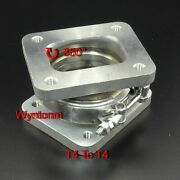 T4 To T4 Turbo Inlet V Band Stainless Steel Rotation Conversion Adapter Flange