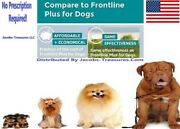 6 Month's Generic, Frontline Plus For Dogs 45-88 Lbs , Large Dogs, Fandt+