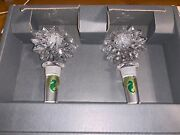 Wine Bottle Stopper Set Waterford Crystal Star Of Erin New In Box And Discontinued