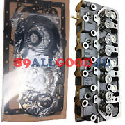 Complete Cylinder Head 4900931 W Full Gasket Set For Cummins A2300 A2300t Engine