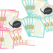 20 Hen Party Games Accessories Who Knows Bride Best Advice Cards Challenge Emoji