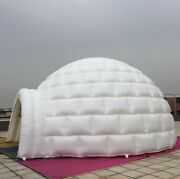 13ft 4m Inflatable Promotion Advertising Events Igloo Dome Tent 0.4pvc /blower