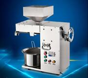 Commercial Electric Hot And Cold High Power Oil Press Machine Stainless Steel Y