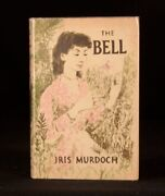 1958 Iris Murdoch The Bell Signed First Edition In Dustwrapper Imber Court