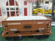 Lionel Modern Era 52279 D And N  Ore Car With Load Niob Sharp 1992