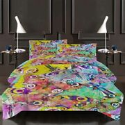 Dragonfly Eyes 3d Printing Duvet Quilt Doona Covers Pillow Case Bedding Sets