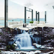 Covered Snow Ice 3d Floor Mural Photo Flooring Wallpaper Home Print Decoration