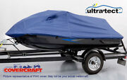 Pwc Jet Ski Cover - Blue Fits Yamaha Wave Runner Ex Sport, Ex Deluxe 2017-2021