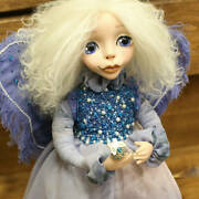 Ooak Artist Doll Butterfly, Poseable Art Doll, Collectable Ceramic Dolls
