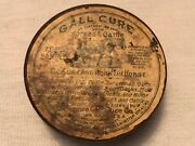 Bickmore Gall Cure Vintage Free Sample Tin For Horses And Cattle