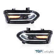 Led Headlight Fits For Dodge Charger 2015-2020 Highandlow Beam Front Lamp Assembly