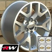 22 X9 Inch Chevy Suburban Oem Specs Honeycomb Wheels Machined Silver Rims