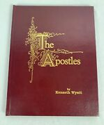 The Apostles And Jesus Paintings By Kenneth Wyatt, 1989, Signed And Inscribed G1