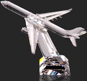 Asfour Crystal Gift-airplane-homeandoffice Decor-business Gift-egypt Made-swarovsk