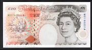 Kentfield Bank Of England. 10 Pounds. 1992. Replacement First Run. M01 802...