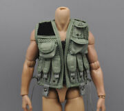 1/6 Scale Us Special Forces Chest Hanging Vest Model For 12 Hottoys Male Body