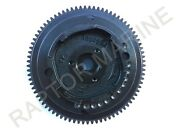 Flywheel 66m-85550-10 For Yamaha Electrical Start Outboard 9.9/13.5/15hp