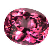 1.40ct 7x6mm Oval-portuguese Natural Pink Spinel