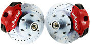 1963-70 Chevy C10 Wilwood 6-lug Stock Height Spindle Disc Brake Conversion