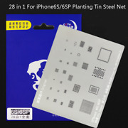 28 In 1 Steel Bga Stencil For Iphone 6s 6sp Motherboard Soldering Planting Tin