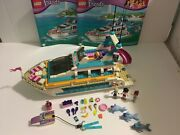 Lego Friends Dolphin Cruiser 41015 Plus Extra Dolphin And Lifevest